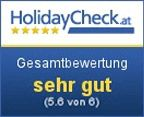 Bewertung HolidayCheck.at